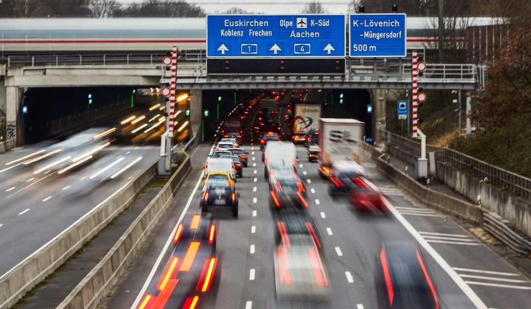 Autobahn punctuality rate? 49 percent