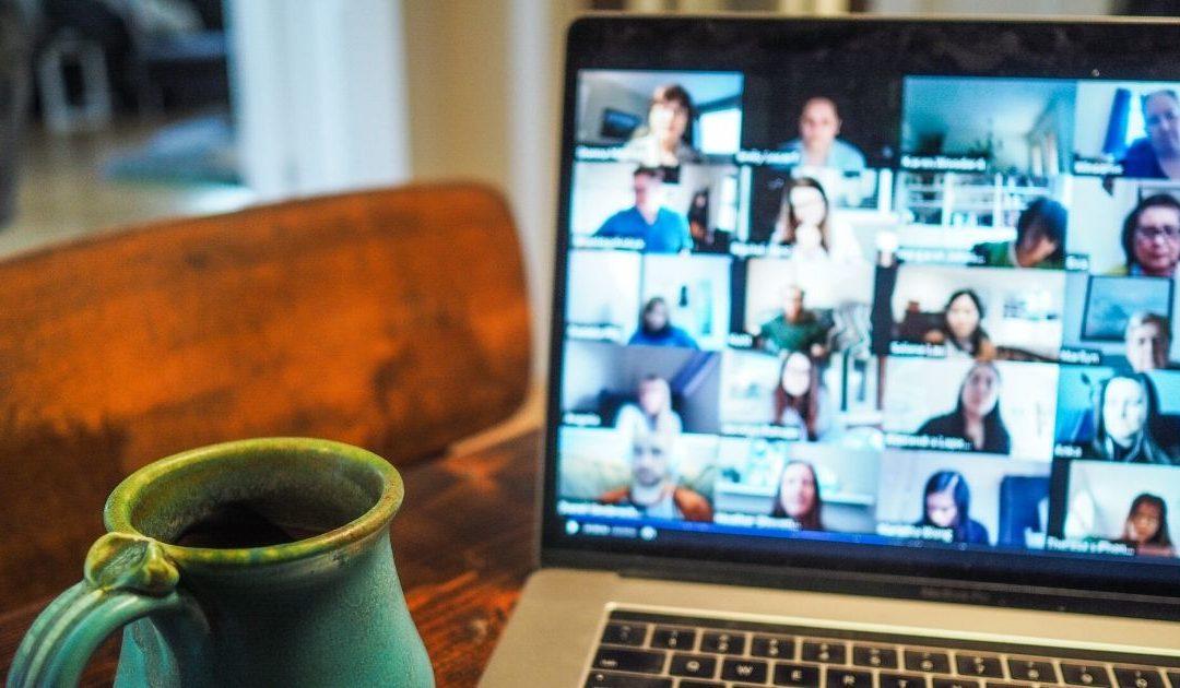 Corona diary: Online moderation & presentation