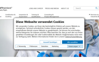 BGH ruling: legally compliant use of cookies