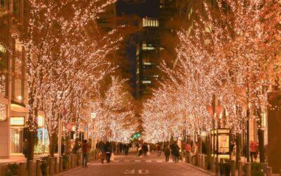 Weihnachten in Japan: Plastikbaum und Christmas Cake