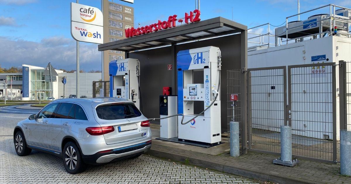 Wasserstoffauto-Test
